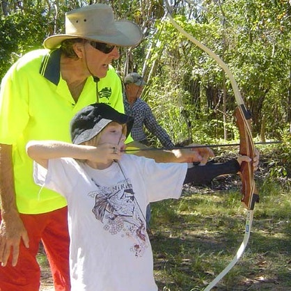 Cub at Archery Practice 2