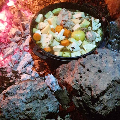 Woodfire Chicken Stew